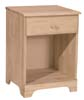 image of Parawood 1 Drawer Nightstand