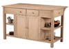 image of Parawood Super Kitchen Center with Breakfast Bar