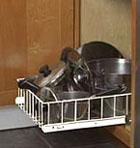 Wire Basket Cabinets